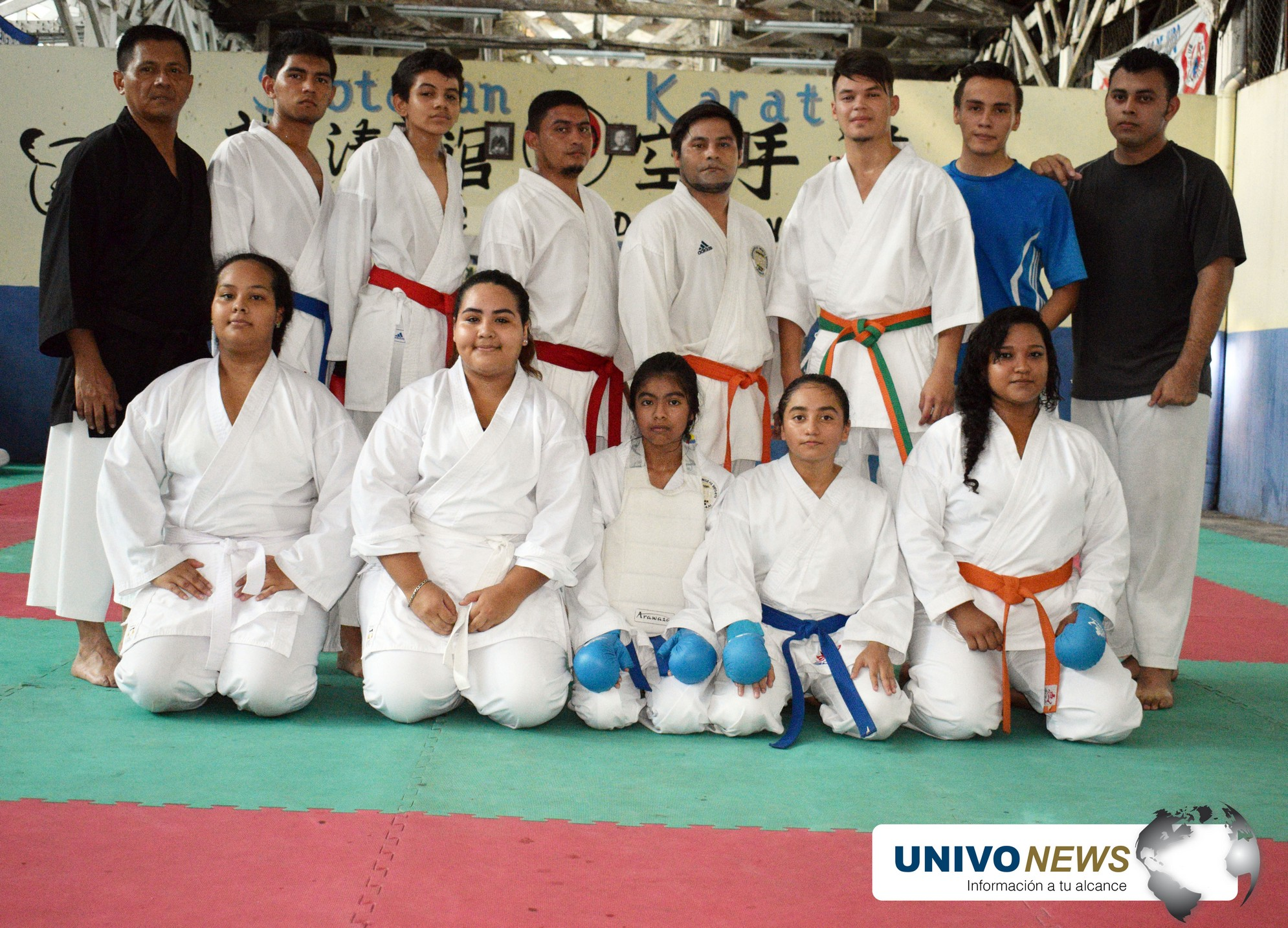 Photo of Tetracampeón de karate-do UNIVO