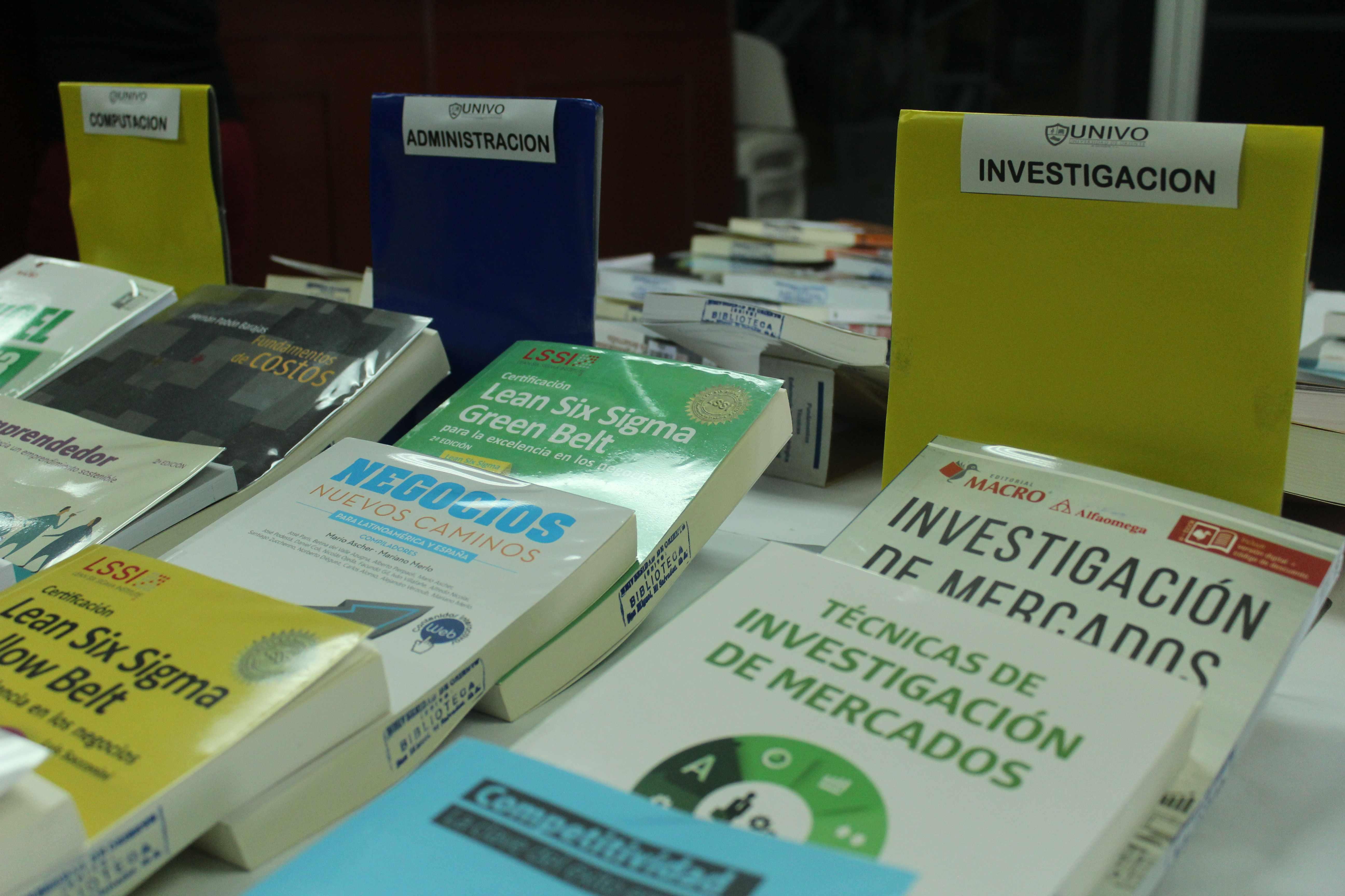 Biblioteca UNIVO a la vanguardia con la tecnología