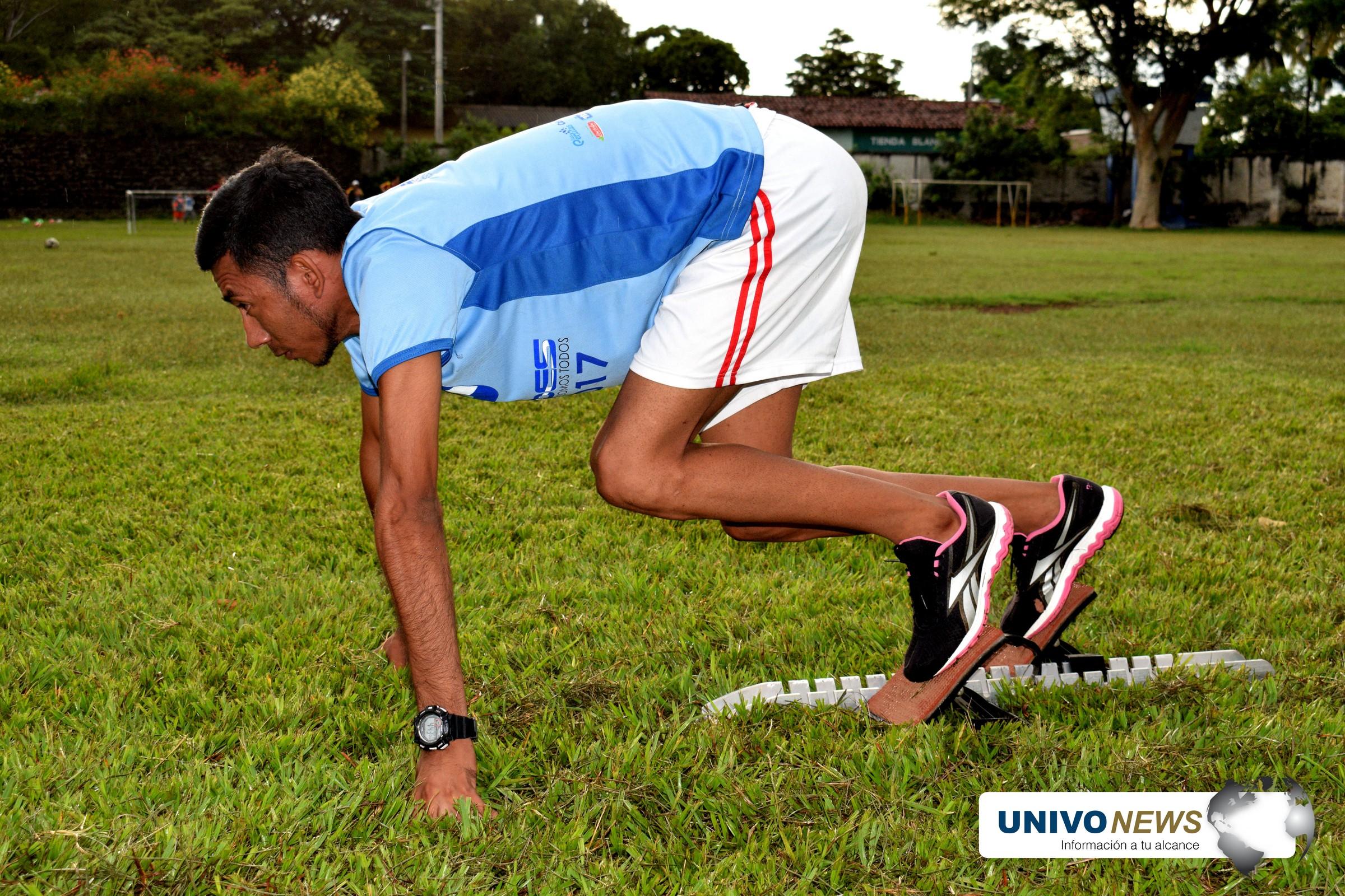 Moisés:  campeón velocista paralímpico