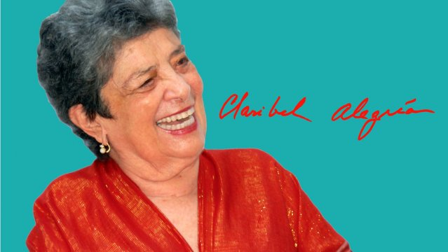 Nos dejó la  poeta  Claribel Alegría