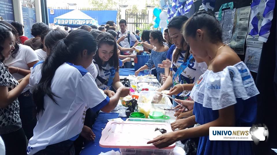 UNIVO celebró día cívico Centroamericano
