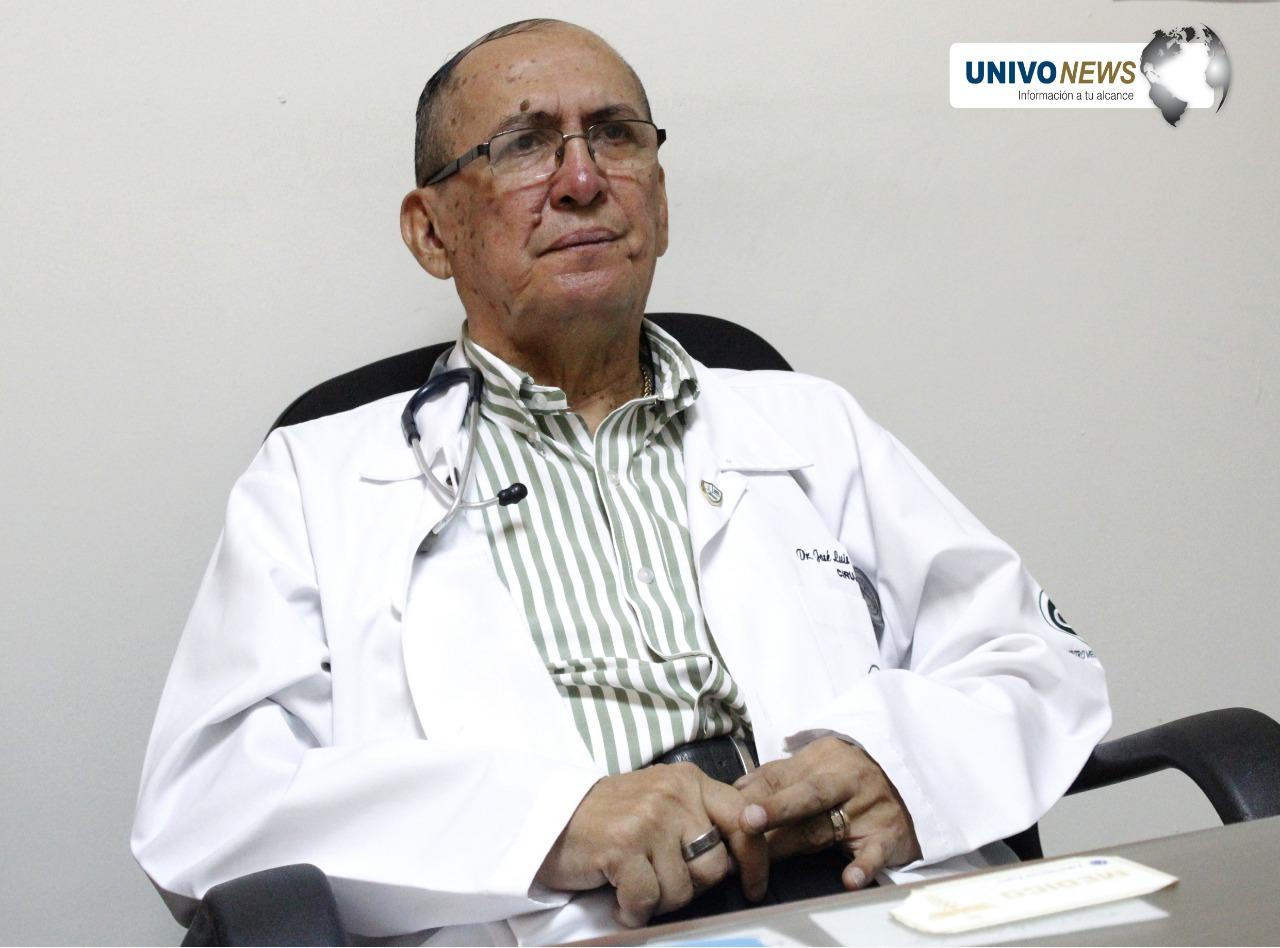 José Luis  Castro Cisneros, médico exitoso, fundador de la UNIVO