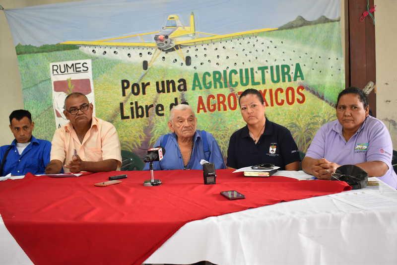 Photo of Comunidades del Bajo Lempa demandan una navidad y año nuevo sin venenos
