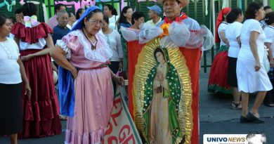 San Miguel celebró a la Virgen de Guadalupe