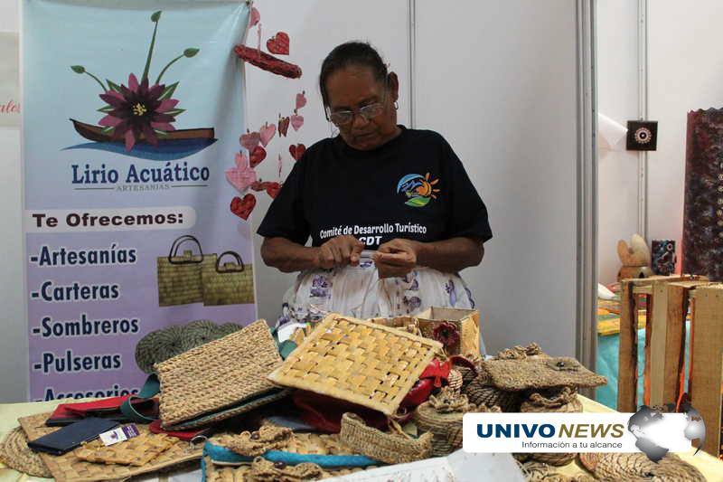 Doña Tránsito, la artesana de la ninfa en Olomega