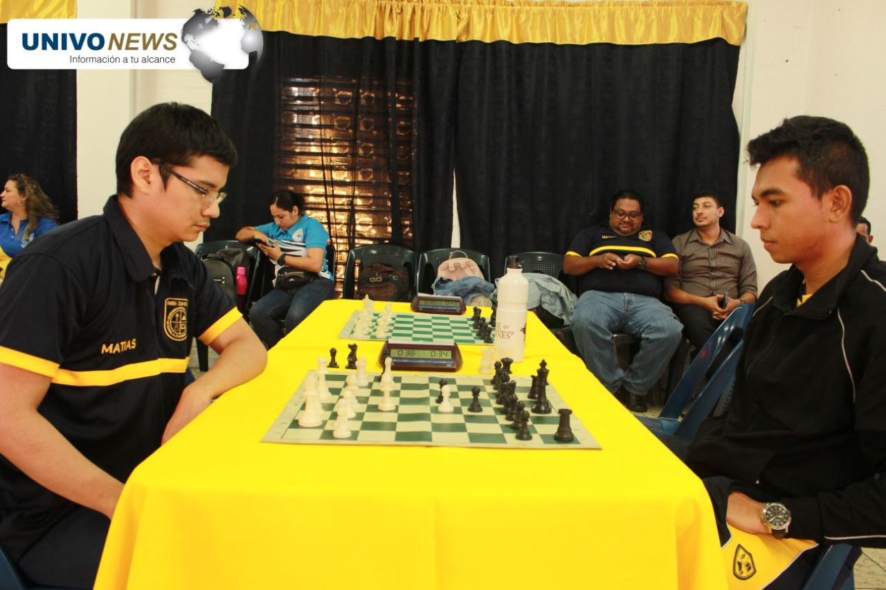 UNIVO se agenció primer lugar en Ajedrez de los XXXVIII Juegos Universitarios