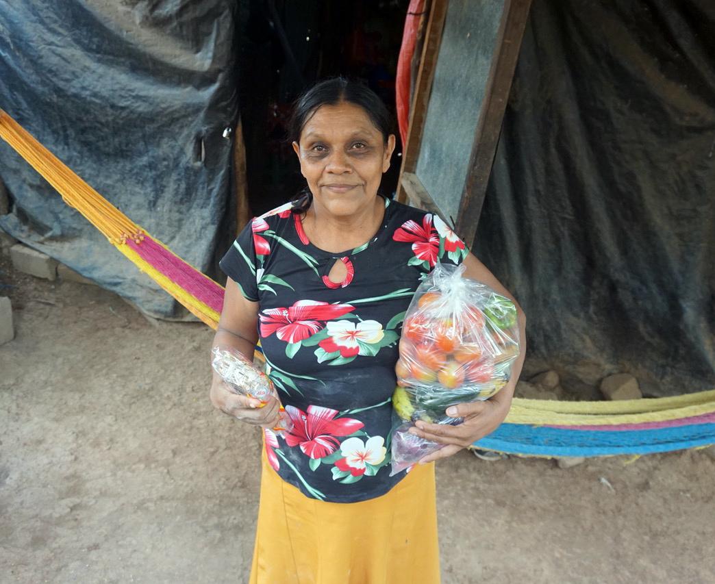 Photo of Familias de la zona rural de Sensembra recibieron ayuda de altruistas