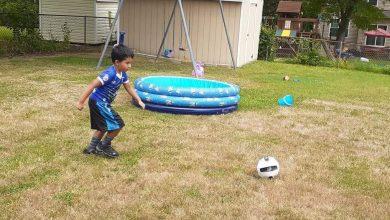 Photo of Emmanuel, con pasión por el  fútbol a pesar de la pandemia