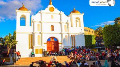Photo of Tapojiados y Emplumados ofrecieron danza a San Antonio