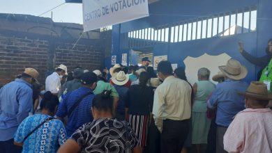 Photo of JEM y PNC retiraron propaganda electoral cerca del centro de votación en Delicias de Concepción