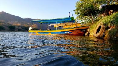 Photo of Recorriendo el río Lempa con don Miguel Hernández
