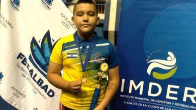 Photo of Julio Trejo, campeón junior en el bádminton salvadoreño