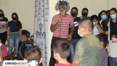 Photo of Voluntarios UNIVO celebraron a los niños de cantón San Andrés